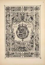 Герб и печать короля Гишпанского.