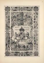 Герб и печать короля Английского.
