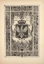 Герб и печать короны Польской.