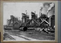Доменный цех 1914.