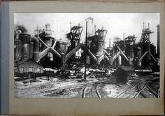 Доменный цех 1915.