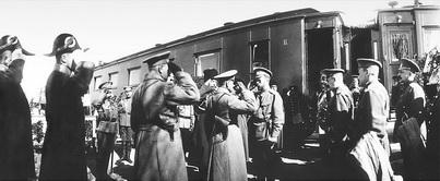 Прибытие Императора Николая II в Бежецк. 15 апреля 1915 года