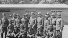 Наш взвод - 17-я  запасная рота (связи) 137-го горнострелкового пока - район Зальцбурга -  Май 1939