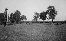 Положение для  стрельбы лежа - 17-я запасная рота (связи) 137-го горнострелкового полка  - райно Зальцбурга - Май 1939