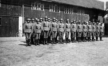 Май 1939 - 17-я  запасная рота (связи) 137-го горнострелкового полка - район Зальцбург