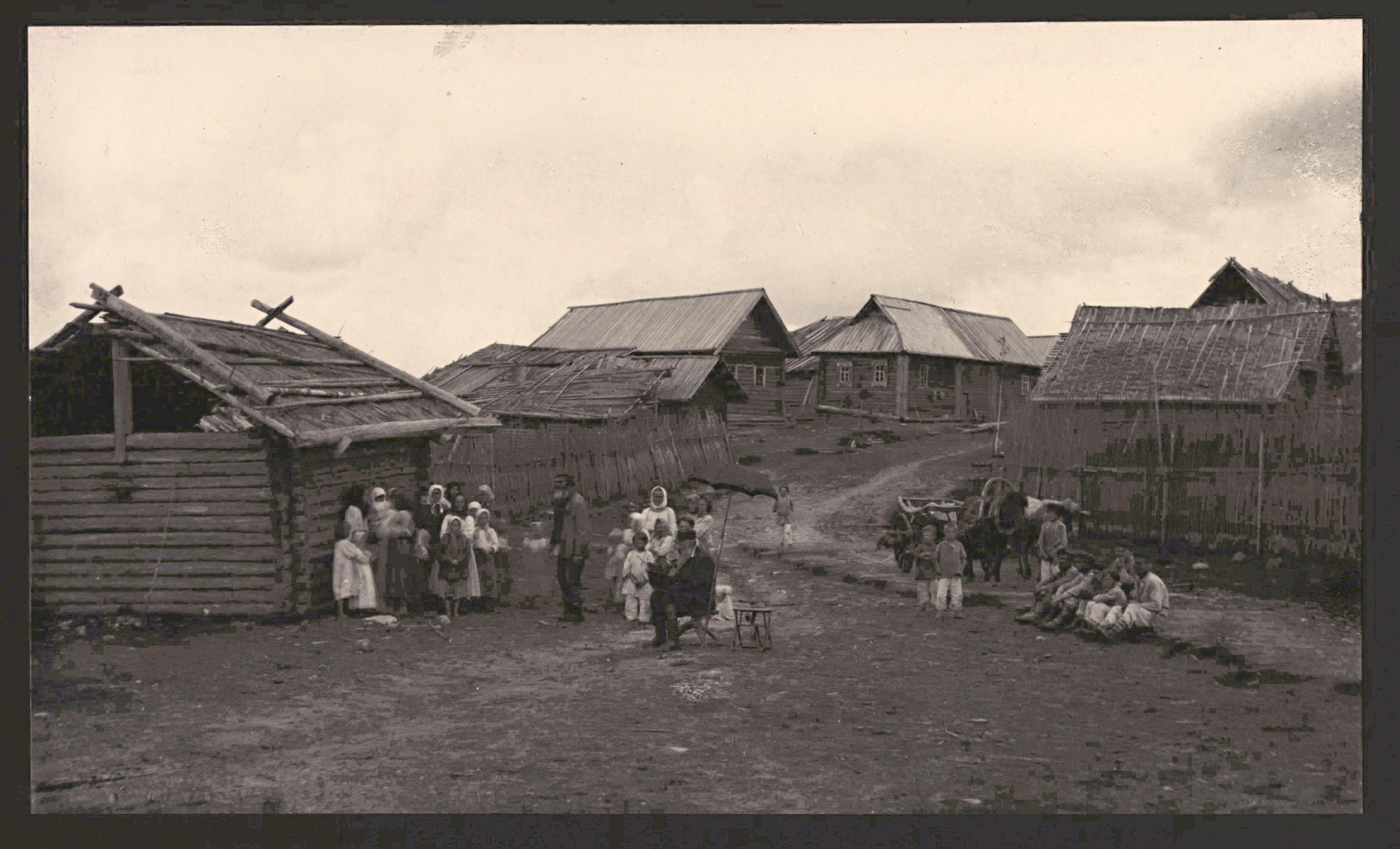 Фото старой русской деревни 3