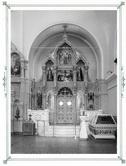 Внутренний вид Спасо-Преображенского собора. Правый иконостас