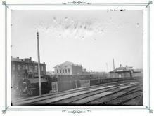 Вид на станцию Сормовской железнодорожной ветви