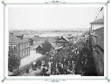 Молебствие в день десятилетнего юбилея заводов акционерного общества Сормов