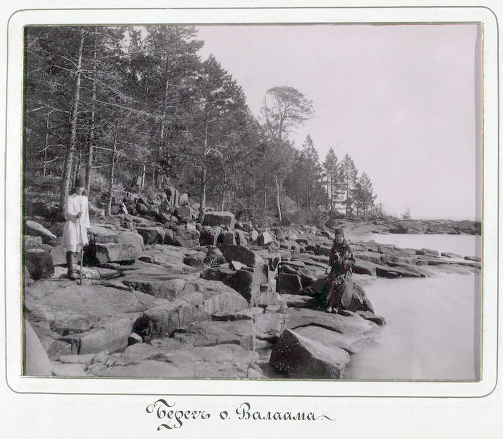 остров валаам монастыри монахи фото история детстве Анфиса
